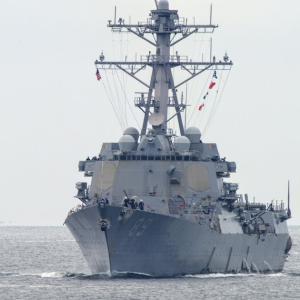 2020.09.13 船活 東京湾フェリーから艦艇を撮影