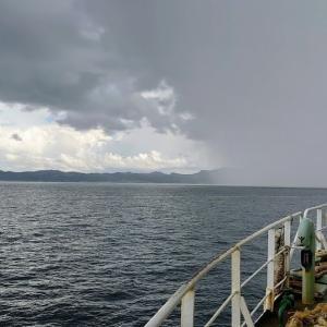 2020.09.06 船活 東京湾フェリーから東海汽船を撮影する