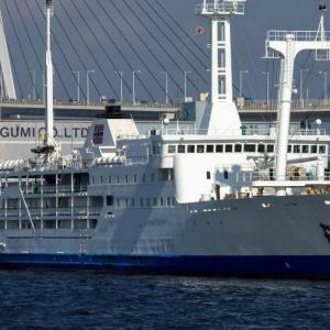 2020.09.05 船活 横浜港に停泊している2代目さるびあ丸に再び会いに行く
