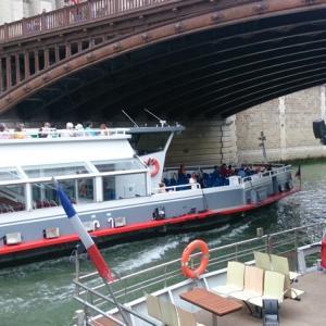 セーヌ川クルーズ バトーパリジャン(Bateaux Parisiens)の当日券での乗り方、クルーズの種類の紹介
