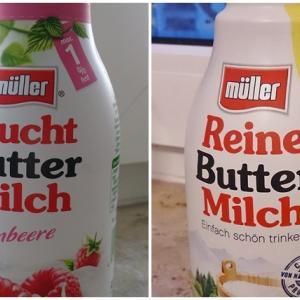 ドイツのスーパーにあるButtermilch(ブッターミルヒ)って何?