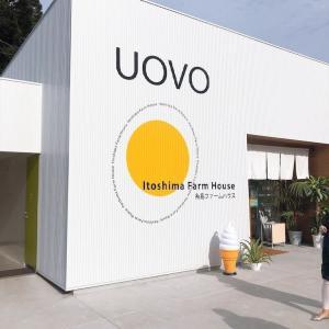 糸島カフェ「UOVO」がオシャレで若者に人気!