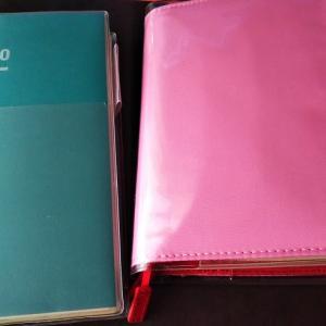 ほぼ日手帳とジブン手帳の2冊使い、始まりました