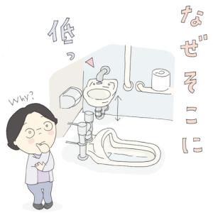 悩ましいトイレ