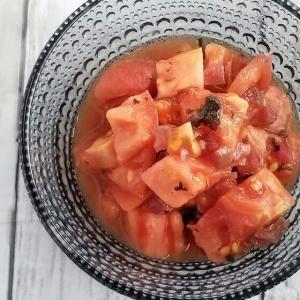 【レシピ】あとひく美味しさ♡カリカリ梅トマト