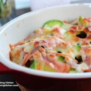 トースター調理♪【レシピ】とろ~り♡南瓜とアボカドのチーズ焼き