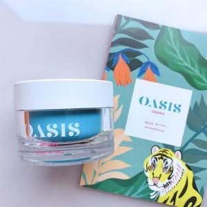 【OASIS Laboratory オアシスラボラトリー】水分爆弾💧?! べた付かないのに肌にしっかり水分を閉じ込める保湿クリーム