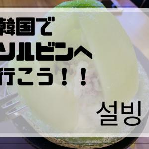 韓国に行ったら食べに行くべき【かき氷】! 夏だけじゃない 春も秋も冬でもおいしいソルビン