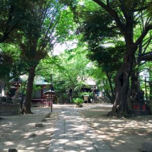 日暮里駅から谷中を散策! 諏方神社