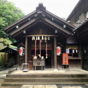 高層ビルの林立する都会で神社巡り! 久國神社
