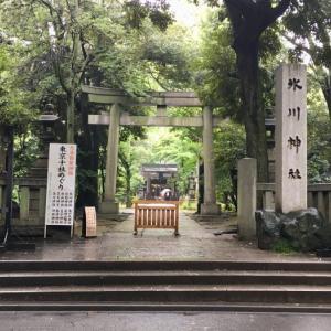 高層ビルの林立する都会で神社巡り! 赤坂氷川神社
