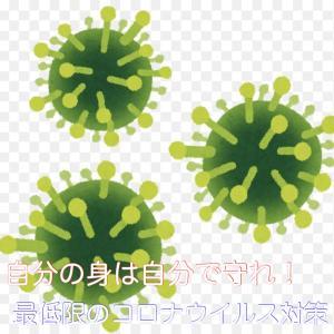 【自分の身は自分で守れ】最低限のコロナウイルスの対策