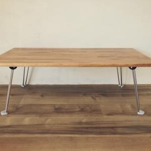 自宅教室の机を高さを変えて使えるようにリメイクDIY