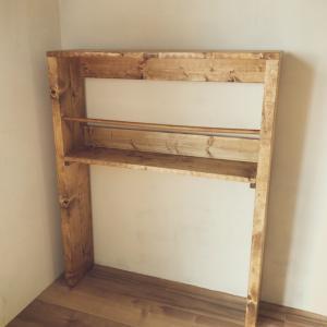 キッチン収納棚を納品させていただきました!