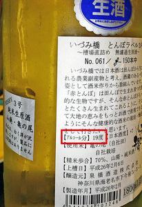 味の決め手【16.アルコール度 編】