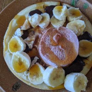 今日のパンケーキ