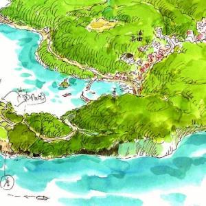 ジブリアニメの疑似聖地(2)鞆の浦より「崖の上」っぽい伯方島