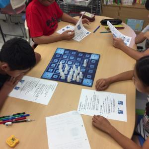 ボードゲームを利用した授業の流れ