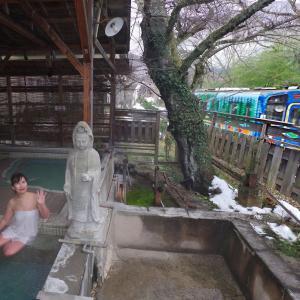 電車マニア必見!福島県南会津市「湯野上温泉 清水屋旅館」