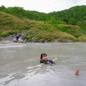 泥湯を堪能!「ニセコ 小湯沼」