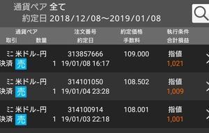 FX 119円で利益確定!