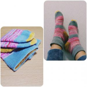 Plain vanilla socks 完成