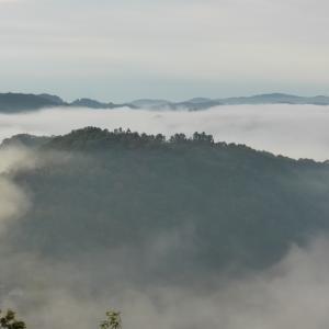 吉備高原の雲海