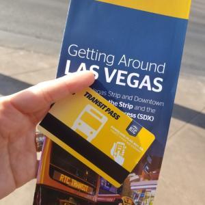 世界一周*アメリカ(ラスベガス)市内移動はRTCのバス三日券を購入~アウトレット買い物三昧*