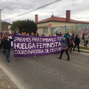 デモが起こる、現在のチリ