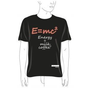 かわいいアインシュタイン的コーヒー理論Tシャツ。〜カレル大学・理学部のEショップ〜