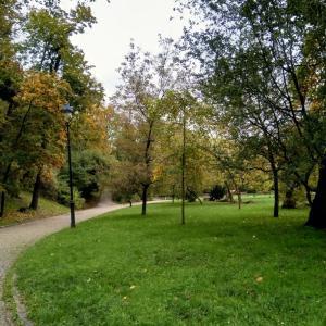10月のプラハ。黄葉&紅葉