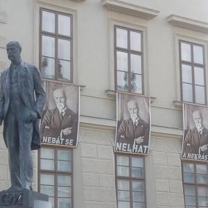 今日の銅像クイズ。チェコの偉人・問題篇