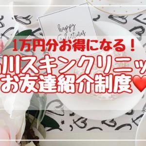 【知らないと損】品川スキンクリニックの友達紹介制度で1万円分のポイントを貰う方法。