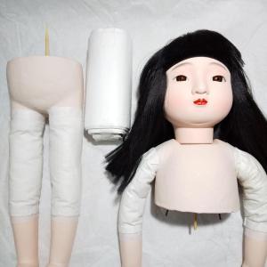 市松人形を組み立てた
