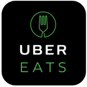 今流行りのUber Eatsデビューしました