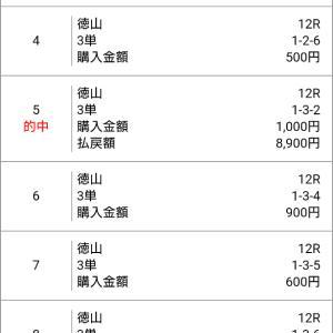 ボートレース徳山G112R  わらしべ長者買い2