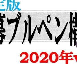 2020年読売巨人軍開幕ブルペン予想(暫定版)