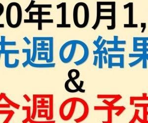 2020年10月1,2週・読売巨人軍10連戦を展望!