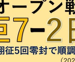 オープン戦vs日本ハム~戸郷翔征5回零封で順調調整!(2021.0306)