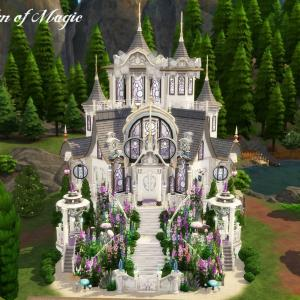 The Sims4 「Magical House -Nocc- 配布」