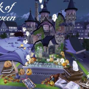 The Sims4 SatiSim's Halloween Collaboration #Simhain「A Book of Halloweeen NOCC 配布」