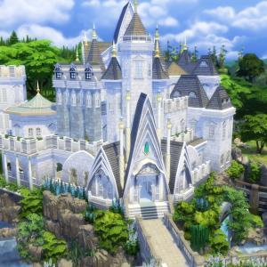 The Sims4 「Fantasy Castle -Nocc- 配布」