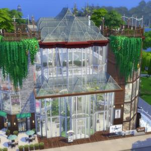 The Sims4 「★Shopping mall★ 配布」 不思議町日誌(76)