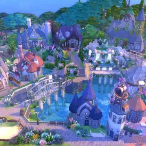 The Sims4 「-RPG-Fairy village-NOCC- 配布」不思議町日誌(78)