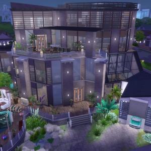 The Sims4 「Modern Villa-NOCC- 配布」不思議町日誌(80)