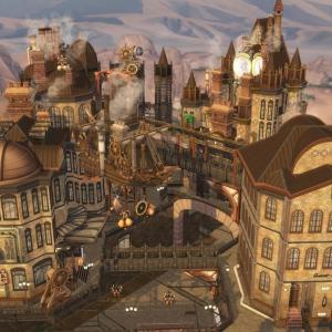 The Sims4 「Steam punk City-NOCC-配布」