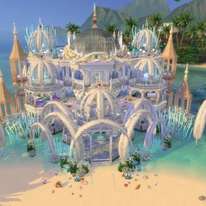 The Sims4 「Mermaid Villa-NOCC- 配布」