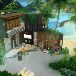 The Sims4 「Lagoon Look-NOCC- 配布」