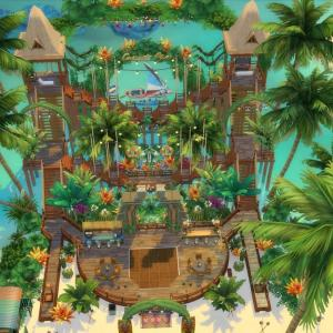 The Sims4「Island Bar-NOCC- 配布」