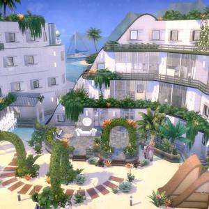 The Sims4 「Island Hotel-NOCC- 配布」